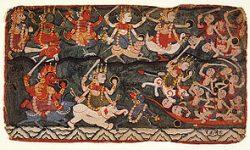 Bhanda's war preparation