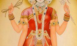 Devi vijaya yatra Devi's victory procession