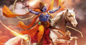 Kalki Avatar of Vishnu in Kalyug